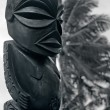 Постер, плакат: Figure of a Cook Islands male in Rarotonga Cook Islands