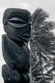 Figure of a Cook Islands male in Rarotonga Cook Islands. — Stock Photo