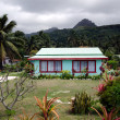 Colonial home in Rarotonga Cook Islands — Stock Photo