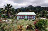 Colonial home in Rarotonga Cook Islands — Stock Photo