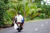 Transportation in Aitutaki Cook Islands — Stock Photo
