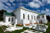 Cook Islands Christian Church (CICC) in Aitutaki Lagoon Cook Is — Stock Photo
