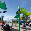 Auckland Wynyard-quarter Playspace — Stock Photo