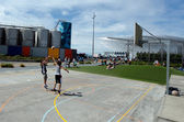 Auckland Wynyard-quarter Playspace — Stock Photo