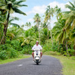 Transportation in Aitutaki Cook Islands — Stock Photo #36063263