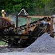 Gravel machine — Stock Photo