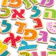 Hebrew alphabet letters — Stock Photo #36144387