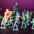 Stock Photo: Toy soldiers - world war