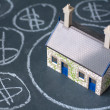 House bubble — Stock Photo