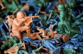 Soldados de juguete - guerra mundial — Foto de Stock