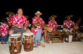 Polynesian Pacific Island Tahitian Music Group — Stock Photo