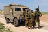 Israeli soldiers — Stock Photo