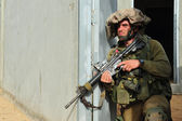 Israeli soldier — Stock Photo