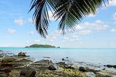 Landscape of Moturakau Island in Aitutaki Lagoon Cook Islands — Stock Photo