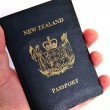 New Zealand passport — Stock Photo