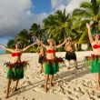Polynesian Pacific Island Tahitian Dance Group — Stock Photo #36522309