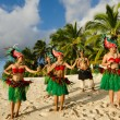 Polynesian Pacific Island Tahitian Dance Group — Stock Photo #36522323