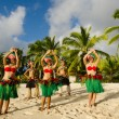 Polynesian Pacific Island Tahitian Dance Group — Stock Photo #36522369