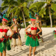 Polynesian Pacific Island Tahitian Dance Group — Stock Photo #36522639