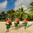 Polynesian Pacific Island Tahitian Dance Group — Stock Photo #36522669