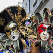 Stock Photo: VenetiMasks in Venice, Italy