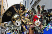 Venetian Masks in Venice, Italy — Stock Photo