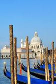 Venice Cityscape - Campo della Salute church — Foto Stock
