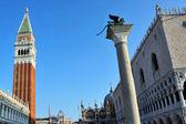 Venedig stadsbilden - markusplatsen — Stockfoto