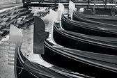 Venice Italy Cityscape - Gondolas — Foto Stock