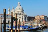 Venice Cityscape - Campo della Salute church — ストック写真