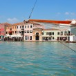 Murano Island in the Venetian Lagoon, Italy — Stock Photo