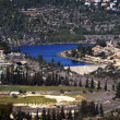 Beit Zayit Reservoir in Jerusalem, Israel — Stock Photo