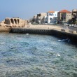 Stock Photo: Acre port Israel