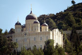 The Russian Monastery Church in Ein Karem Village Jerusalem Isra — Foto de Stock