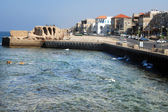 Acre port Israel — Stockfoto