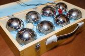 Petanque balls — Stock Photo