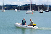 Opua marina at the Bay of Islands New Zealand — Stock Photo