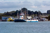 Opua - Russell ferry at the Bay of Islands New Zealand — Stok fotoğraf