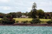 Waitangi grounds at the Bay of Islands New Zealand — Foto de Stock