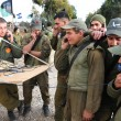 Israeli Soldiers Prepared for Ground Incursion in Gaza Strip — Stock Photo