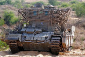Armoured recovery vehicle — Stock Photo