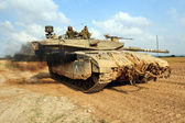 Israel army - Merkava Tank — Stock Photo
