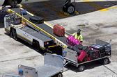 Auckland Airport - New Zealand — Stock Photo