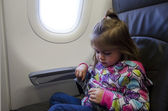 Children & Infants air travel — Stock Photo
