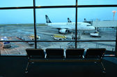 Auckland Airport - New Zealand — Stock Photo