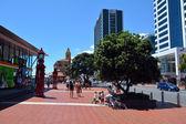 Auckland gród - terminal promowy — Zdjęcie stockowe