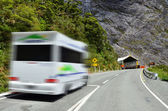 Fiordland - Homer Tunnel — Stock Photo