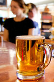 Cup of beer — Stock Photo