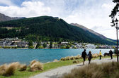 Queenstown New Zealand — Stock Photo