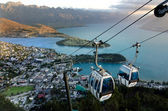Skyline Gondola Queenstown NZ — Stock Photo